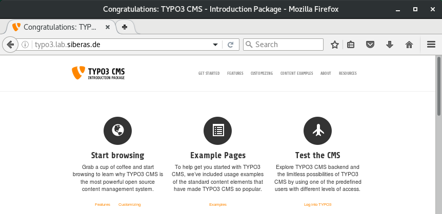 TYPO3 Introduction Package